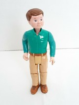 VTG Fisher Price Loving Family Dollhouse Daddy Dad Father 1993 Green Shirt - $13.52
