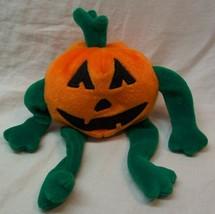 "TY Beanie Baby PUMKIN' THE PUMPKIN 7"" Bean Bag Stuffed Animal Toy 1998 - $14.85"