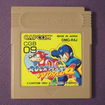 Rockman World 4 (Nintendo Game Boy GB, 1993) Japan Import ~ Megaman - $15.14
