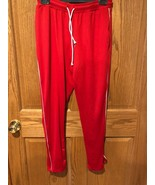 Men's AMERICAN EAGLE Red Activewear Work Out Basketball Pants Bottoms Sz S - $5.93