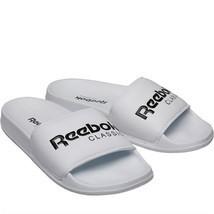 Reebok Men's Classic Slide Sandals Beach Shoes Flip Flops - BS7417 - White - $35.91