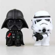 2pcs Star Wars Classic Stormtrooper Darth Vader Action Figures Toy Colle... - $8.80