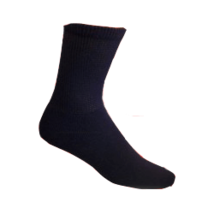 Black- Men's Diabetic Socks 3 pairs Size 10-13 - $8.75