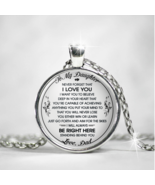 To My Daughter - Love, Dad Necklaces, Daughter's Gift from Father Mama P... - $31.63+