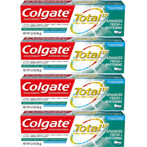 (4 Pack) New Colgate Total Advanced Fresh + Whitening Gel Toothpaste, 3.... - $26.99