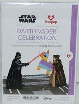 Lovepop LP2084 Darth Vader Celebration PopUp Card White Envelope Cellophane wrap image 6