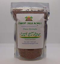 Flax Seed, Sprouting Seeds, Microgreen, Sprouting, 4 OZ, Non GMO - Country Creek - $6.49