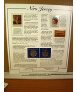 New Jersey Statehood Quarters Collection Postal Commemorative Society - $8.09