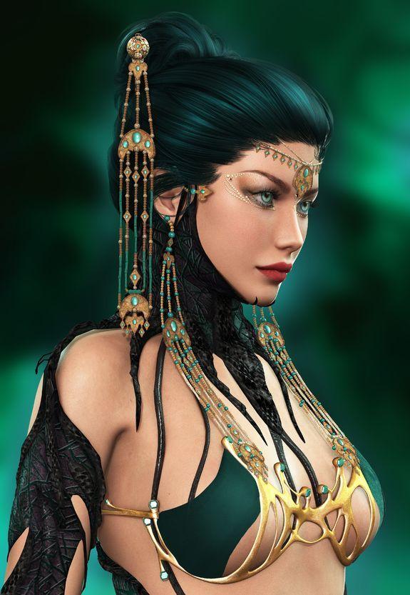vkm Spr Sexy Female Ifrit Succubus Djinn Of Erotic Pleasure Djinn Haunted - $149.25