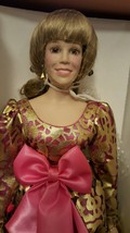 Vanna White Porcelain Doll Collection Limited Edition Numbered NIB COA - $49.49