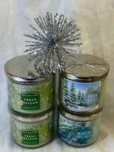 Christmas BBW 3 Wicks Candle Set of 2. Select One. - $42.50