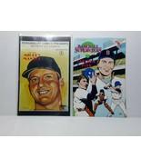 MICKEY MANTLE AND CARLTON FISK BASEBALL COMICS - FREE SHIPPING - $18.70