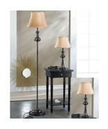 Modern Floor Lamp Lamps For Living Room 3-Piece Set Lamps Black Plated M... - $98.45
