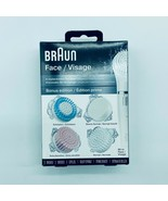 Braun Face Device 4 Replacement Brushes Heads New - $14.99