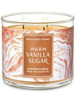 Bath & Body Works Warm Vanilla Sugar Three Wick.14.5 Ounces Scented Candle - $23.95