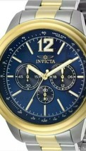 Invicta Men's Watch Aviator Chronograph Two Tone SS Bracelet 28897 $795 MSRP - $89.10