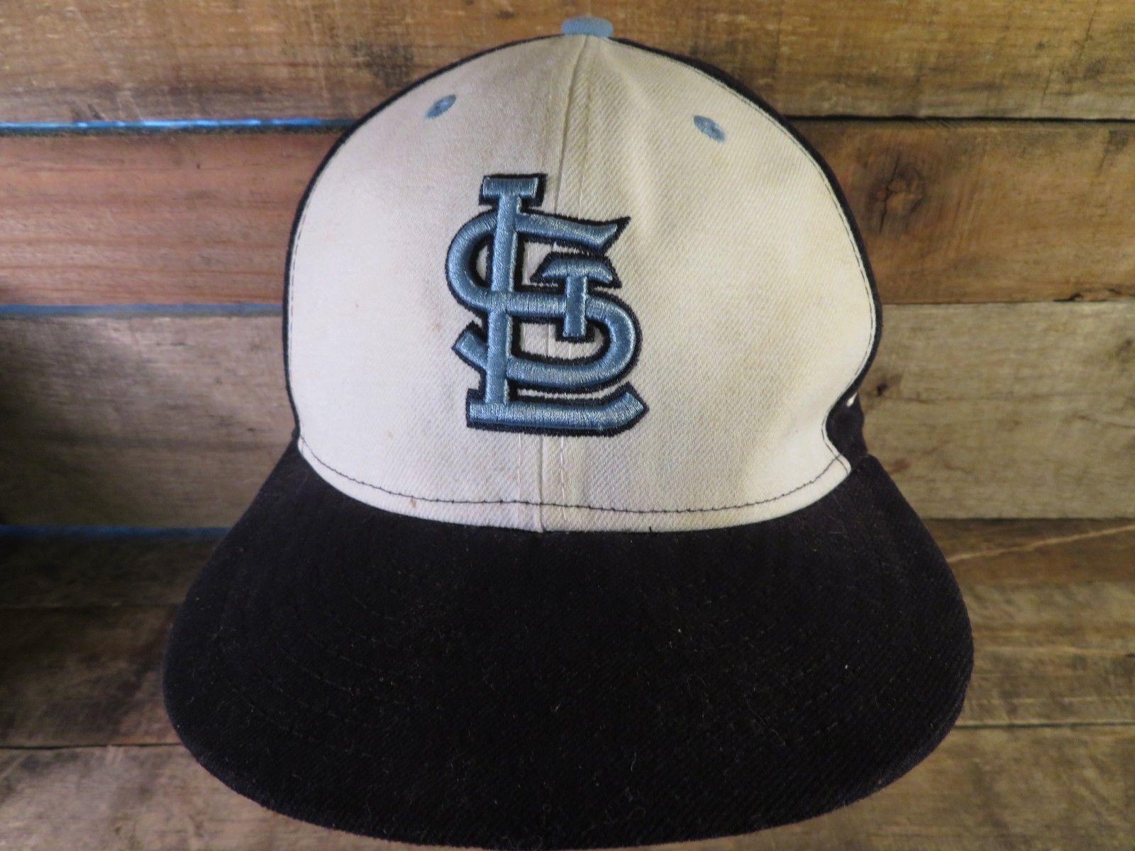 St Louis Cardinals Baseball MLB New Era Angepasst Größe 7 Erwachsene Kappe Hut