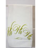 Great Gift Ho Ho Ho!Towel by French Graffiti-Qty:1-Holiday - $6.99