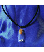 Necklace Gemstones In Bottle 2 Natural Opals 6mm by 4mm Birthstones  Gif... - $29.99
