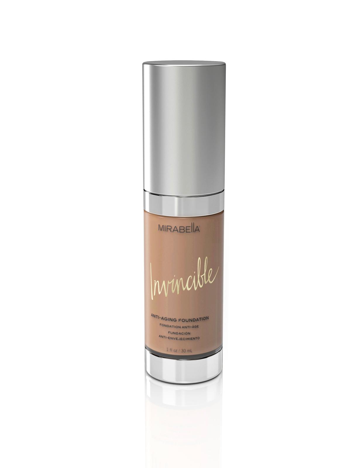 Mirabella Invincible Anti-Aging HD Foundation 1 oz - IV (Medium) - $49.99