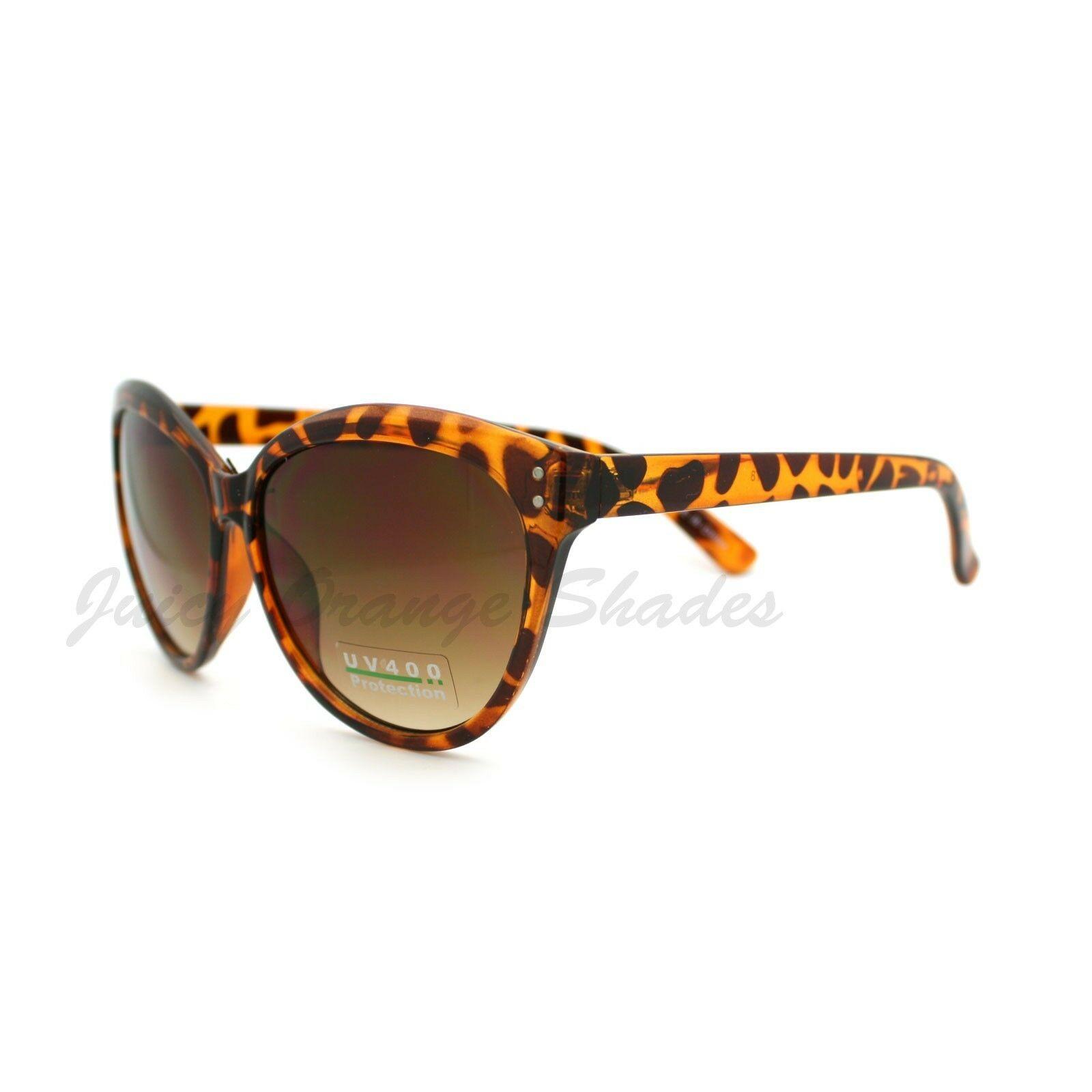 Women's Round Cateye Sunglasses Classic Casual Fashion Shades