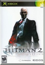 XBOX - Hitman 2: Silent Assassin (2002) *Complete w/Case & Instruction B... - $5.00