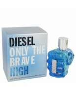 New Only The Brave High by Diesel Eau De Toilette Spray 2.5 oz for Men #... - $63.68