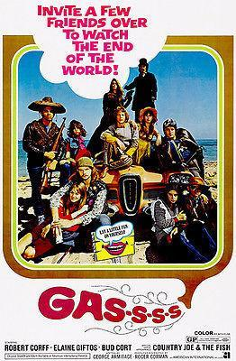Primary image for Gas-s-s-s - 1971 - Movie Poster
