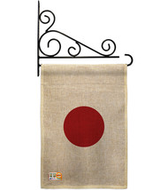 Japan Burlap - Impressions Decorative Metal Fansy Wall Bracket Garden Fl... - $33.97