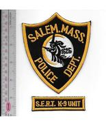 K-9 Police Massachusetts Salem Police Department SERT Canine Unit Office... - $12.00