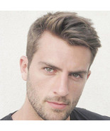 Fine Mono with Thin Skin and Lace Front Stock Mens Hair Systems Handmade - $106.60