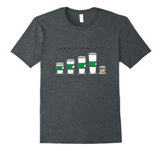 New Shirts - Weekly Coffee Evolution Drink T-Shirt Men - $19.95+