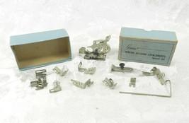 Vintage Greist Sewing Machine Attachments Special Set 11 Pcs Ruffler - $19.79
