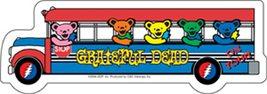 Grateful Dead Bus Outside Window Sticker Deadhead  Car Decal  Hippie  - $5.49