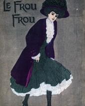 Le Frou Frou: Smiling Girl In Purple - $12.95+