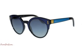 Prada Women Sunglasses PR03US SUI3A0 Black Blue Yellow/Light Grey Gradie... - $194.00