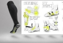 New NIKE Grip STRIKE Light Weight OTC Football Soccer Socks szs: M-XL SX... - $24.99