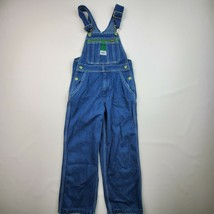 "VTG YOUTH LIBERTY BIB OVERALLS SIZE 8 13 BY 21"" INSEAM - $18.04"
