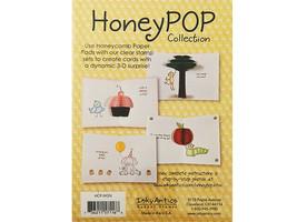 Inky Antics Magenta Honeycomb Paper Pad #HCP-MGN image 2
