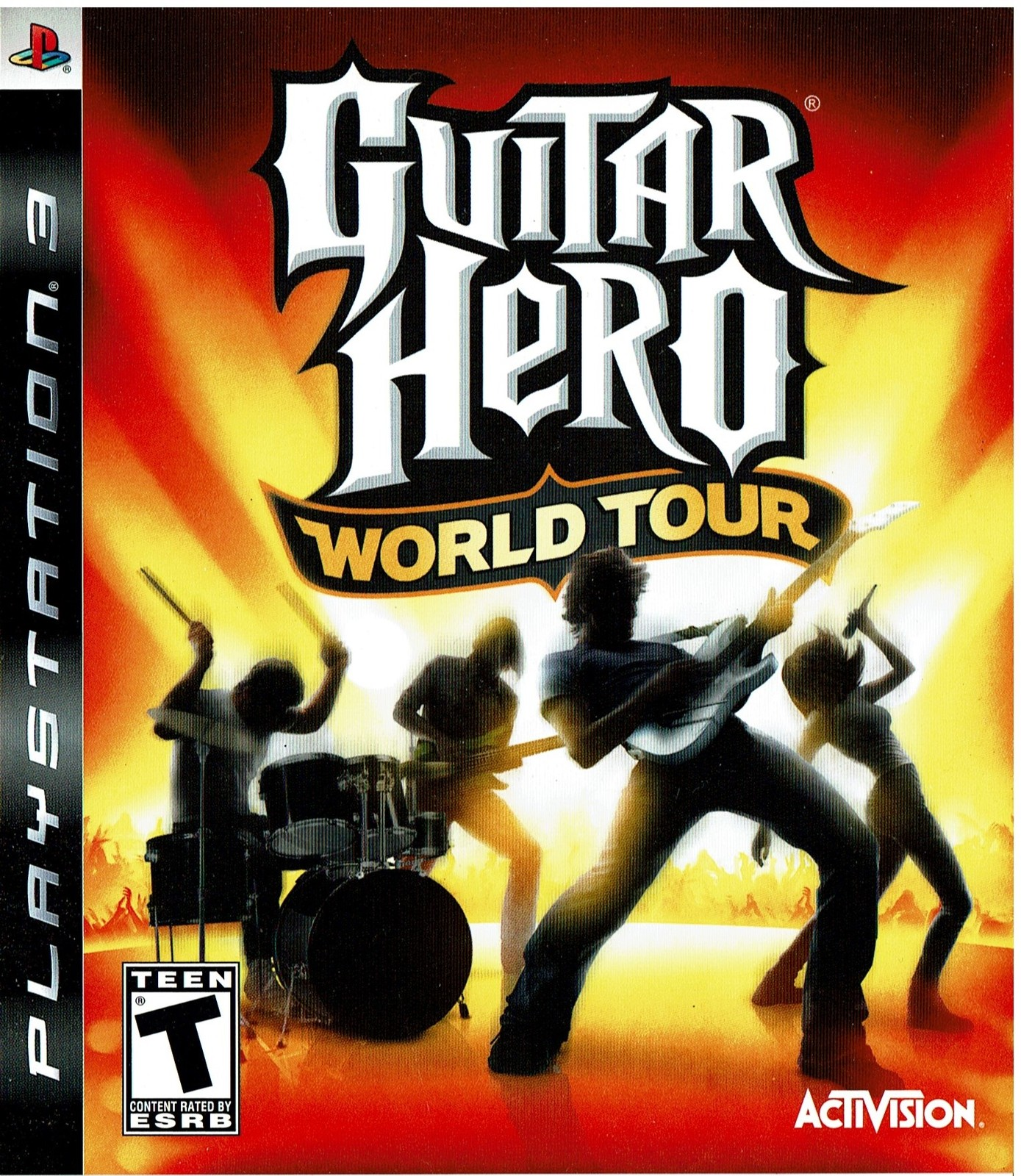 Guitar Hero World Tour, PlayStation 3, PS3, (BLUS-30164S)