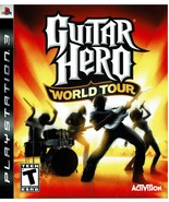 Guitar Hero World Tour, PlayStation 3, PS3, (BLUS-30164S) - $14.99
