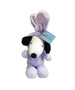 "Hallmark Snoopy 10"" Plush Easter Bunny - $28.99"