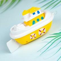 1Pcs cartoon ship baby bath toys kids educational water shower play boat... - $4.30