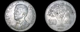 1963 Vietnamese 50 Xu World Coin - Vietnam - $7.99