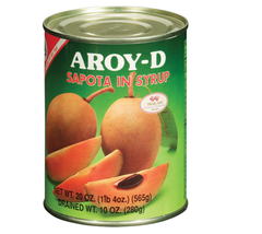 Aroy-D – Sapota in Syrup 565g - $15.83+