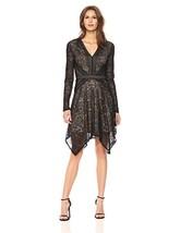 BCBGMax Azria Women's Alex Knit Stretch Lace V-Neck Dress - Choose SZ/Color - $257.12
