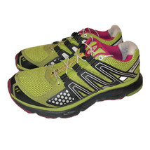 Salomon XR Mission 1 Women's Trail Running Shoes Quicklace Green 327967 Size 7 - $26.48
