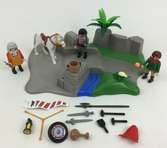Playmobil 3125 Knights Super Set Starter Building Toy 90% Complete - $20.74