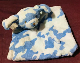 Angel Dear Blue Camo Puppy Baby's Security Blanket HTF - $44.55