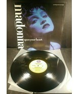 """Madonna ~ Open Your Heart Lp ~ SIRE 0-20597 45RPM 12""""  - $12.86"""